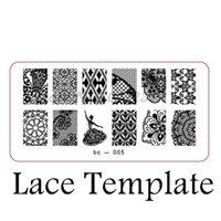 ballet bc - Explosion models nail products nail stamping image plate print templates Ballet Girl bc X
