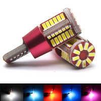 Wholesale 2pcs T10 led w5w super bright smd CANBUS NO Error Car marker Auto Wedge Clearance Lights bulb parking lamps V
