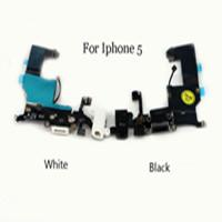 Wholesale For The Apple Iphone G original binding Microphone Headset Plug At The Bottom Of The Tail In Socket Cable Repair Parts A14