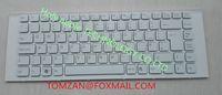 Wholesale Original authentic Laptop Keyboard for SONY VPCEG VPCEG1S1C VPCEG1S2C VPCEG1S3C VPCEG1S4C VPCEG1S5C VPCEG1S6C white UK MP L33XX