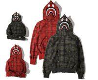 argyle cardigans - New Arrival Autumn Winter Animal Print Hoodies Jackets Loves Lattice Casual Hoodies Men Women Zipper Cardigan Fleece Sweatshirt Jackets Tops