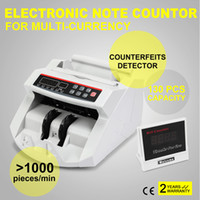 banknote detector - Digital Cash Counter Banknote Money Detector UV MG Counterfeit Detection with LED Display for Bank Retail Store