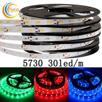 Wholesale Project lights led strip lights SMD Leds m v led strip lights waterproof IP67 red green blue yellow white Warm white