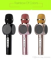 Wholesale New Model Tosing Second E103 Phone Bluetooth Speaker Wirelesls Microphone SingSong Musical KTV for Smartphone Mobile Phone M2