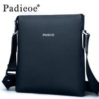 best sling bags - Padieoe Best quality men s shoulder messenger bags genuine leather crossbody sling bags Leisure business handbags for male