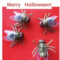 best halloween jokes - Best Seller PC Halloween festival funny Realistic Plastic Flys Joking Toys for kids fun or decoration Aug3