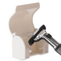 Wholesale Men s Razor Shaver Suction cup Holder Hanger For Men Razor Shaver Bathroom Tools razor holder suction Tools KKA1226