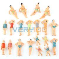 beach layout - Model Train Beach Swimwear Layout Sand Table People Figures Toys