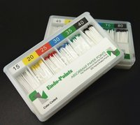 absorbent paper points - 120 Package Dental Absorbent paper point Endodontic Taper Size No