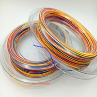 Wholesale 2017 factory big promotion original badminton string for badminton racket M rainbow color freeshipping wecome to order