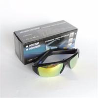 Precio de Cámara espía venta caliente-Venta caliente HD 1080p Spy Eyewear grabador de vídeo deportes gafas de sol cámara de grabación de vidrios ocultos DVR videocámara portátil para exteriores