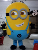 Wholesale Hot sale Minions Despicable Me Mascot Costume EPE Fancy Dress Outfit Adult style selection