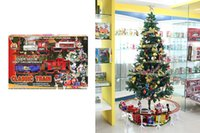 battery christmas train - NO The New Half Assembled Model Train Children s Christmas Music Track Light contains pieces