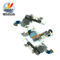 Wholesale Best AAA quality Dock Connector Charger Charging Port Flex Cable for iPhone S plus inch fast shipping