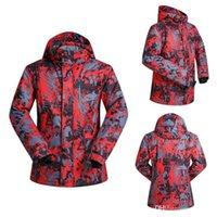 Wholesale outdoor sportwear ski jacket men ski suit windproof waterproof skiing clothing