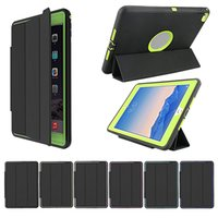 venda por atacado ipad case-Novo Smart Capa Magnetic + Caso Voltar para iPad Air 2 3 4 5 6 ipad pro 9.7 iPad mini Mini2 Retina Folding Case com Auto Sleep Wake
