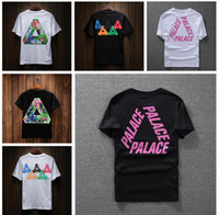 Wholesale Palace T shirt for Men High Quality Palace Skateboards T Shirts women Cotton Summer Tops Short Sleeve Tees Top