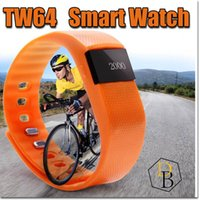 Fitbit TW64 Smart Watch Bluetooth Watch Bracelet Smart bande Calorie Counter Podomètre Sport Activity Tracker Pour iPhone Samsung Android IOS