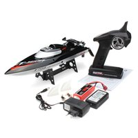 Wholesale F15277 New FT012 G Brushless RC Racing Boat RTR Speedboat Upgraded FT009 Red Black Choice Toy Gift