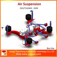 airbags suspension - High Quality bar Linkage Front Rear Firestone Airbag Suspension Bus Air Suspension