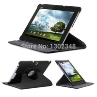 asus transformer folio case - Rotary Degree Rotating Litchi Folio Stand Leather Protective Case for Asus Transformer Pad TF300T TF300 TF301 TF300TG quot
