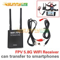 av to wifi - RW832 FPV G CH WIFI Receiver Module G AV Transfer to WIFI Transmission or to IOS Android Smartphone Tablet