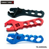 Wholesale TANSKY Professional DIY Aluminum Car Truck Adjustable Wrench Hose Fitting Tool Aluminum Anodized Spanner AN3 AN TK AW002XL