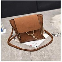 Wholesale New Style Fashion Female Bag PU Quality Frosted Restoring Ancient Ways Ring One Shoulder Inclined Shoulder Bag