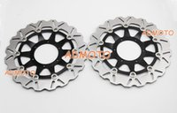 Wholesale Black Front Disc Brake Rotors For Honda CBR1000RR