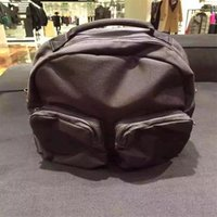 best fashion schools - 2016 Best quality Kanye Fashion Nylon Bags Black original Backpack Style School Bags Duffel Bags
