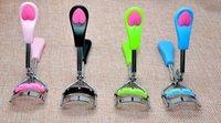 Wholesale EPACK Arrive Ladies Makeup Eyelash Curling Eyelash Curler with comb Eyelash Curler Clip Beauty Tool Stylish DHL free ship