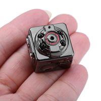 DHL Freeshipping HD 1080P infrarrojos de la visión nocturna mini se divierte el mini DVR Handheld Handheld mini DV de la cámara del espía SQ8 Digitaces Grabación de voz video