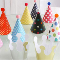 Wholesale Fashion Hot set Party Celebration Korean Cute Party Hats Birthday Hat Festive Party Photograph Items Birthday Party Decorations