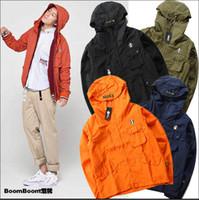 apparel dust coat - yeezus Kanye west Kanye west Ripndip Men Hooded Jacket Apparel Sun Protection Hip Hop Wind Bomber Jacket Men women Suprems Dust coat Jacket