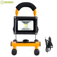 Wholesale w rechargeable led flood lighting rechargeable Led emergency lamp Portable Spotlight battery powered led spot lamp