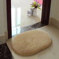 bath shower doors - Lowest Price x50cm Absorbent Anti Non slip Soft Memory Plush Shower Mat Bath Room Floor Door Shower Foam Rug