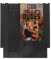 Wholesale Bad Dudes Pin Bit Game Card Cartridge for NES Nintendo