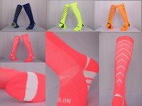 Wholesale C high quality breathable stockings Long Adult Soccer Socks Thick sports football absorbent sweat towel Training