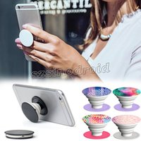 Wholesale Hotest PopSockets Expanding Stand and Grip Card holder phone holder for Smartphones and Tablets Bracket For Iphone plus Samsung Pop Socket