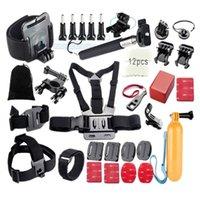 Precio de Plata hero4 gopro-Accesorios Comunes del equipo de deportes al aire libre para todos Gopro Hero4 Negro Hero 4 3+ 3 Sj4000 Sj5000 Sj6000 Sports Camera GS31