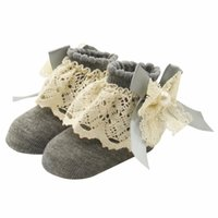 ankle socks for toddlers - Baby Lace Floral Socks for Months Cute Toddlers Infants Cotton Ankle Bow Socks Baby Girls Princess Bowknots Socks
