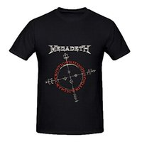 Wholesale T shirt Casual O Neck Megadeth Cryptic Writings Tracks Mens O Neck Cool Shirts Print Short Sleeve T shirt