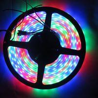 WS2811 LED DRIVE 5050 SMD RGB LED 30/60 leds / m 5 M DC 12 V Magic Dream Couleur Addressable Digital Dia