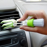 Wholesale Hot Keyboard Dust Air Condition Cleaner Computer Clean Tool Blinds Dirt Duster Brush