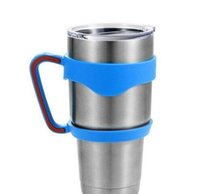 bb holders - Portable Plastic Hand handle Holder Mugs Portable Hand Holder For YETI Rambler Tumbler oz oz Cups Rambler Handle and yeti cup lid bb