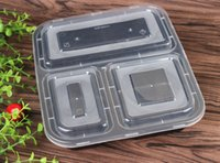 bento food - FEDEX SEND Microwave Safe Food Containers with Lids Bento Box Lunch Tray with Cover Compartment Meal Prep and Portion Control