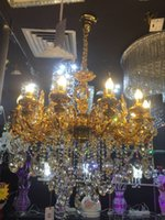 Wholesale Manufacturer direct chandelier lights selling European style golden crystal pendant lamp living room lamp bedroom lamp