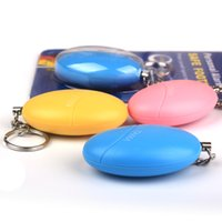 Wholesale Egg egg shaped personal alarm anti Wolf for women s self defense weapons defense supplies outdoor anti wolf tools
