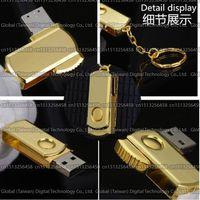 512gb usb flash drive - 128GB GB GB TB TB Gold rotation classic USB flash drive pendrive memory stick USB External storage disk U disk