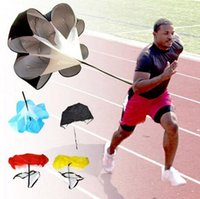 Wholesale New Arrive Speed Training Resistance Parachute Running Chute Speed Chute Running Umbrella